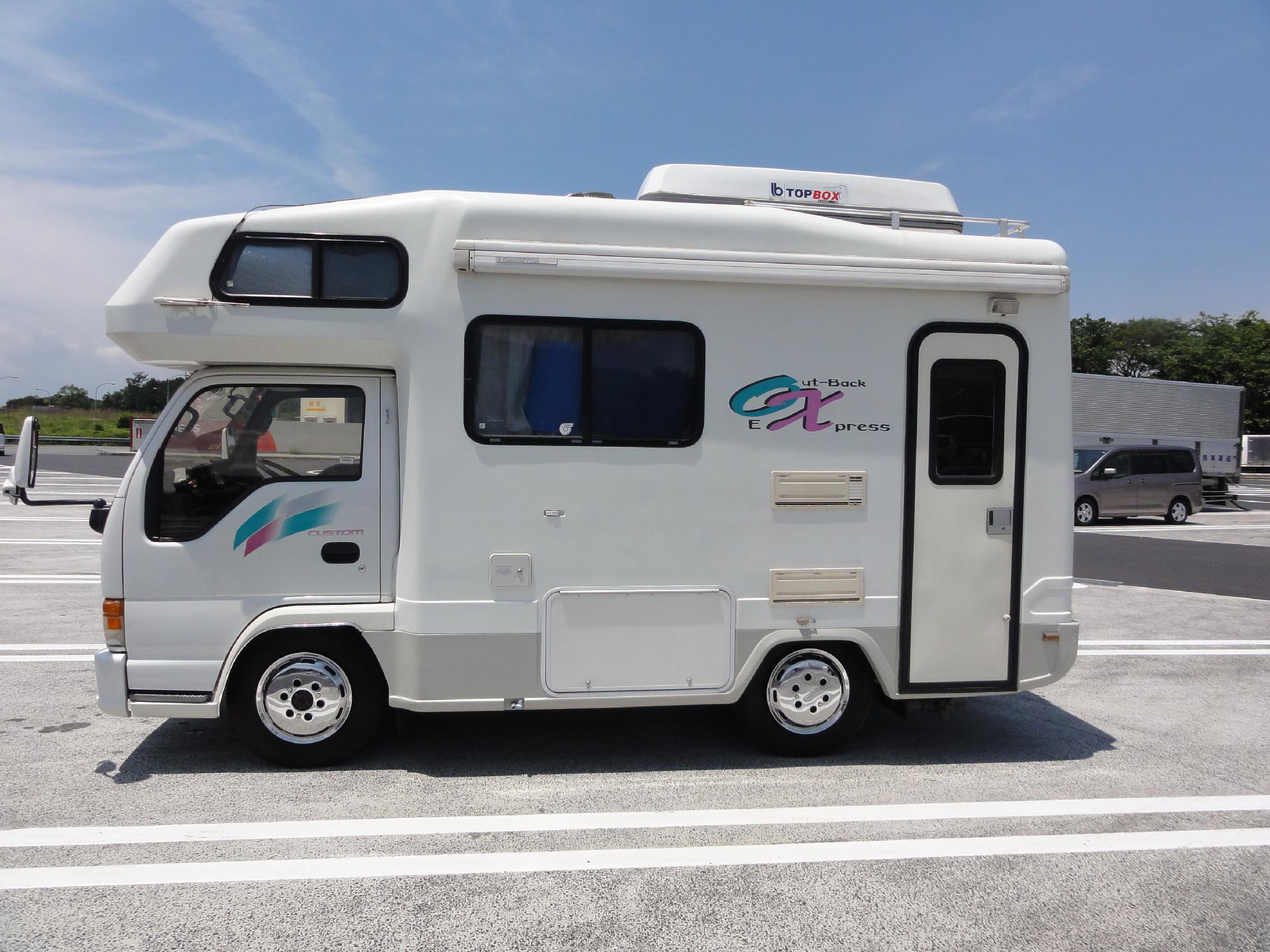 Front Wheel Drive Camper : Wheel drive isuzu elf motorhomes